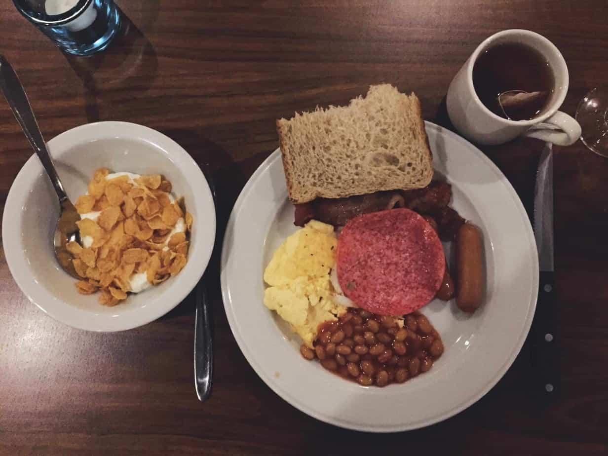 Breakfast at Hotel Vagar