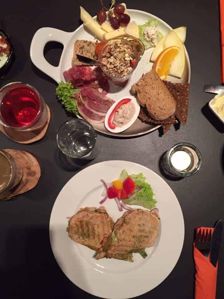 Lunch at Jacqson in Klaksvik