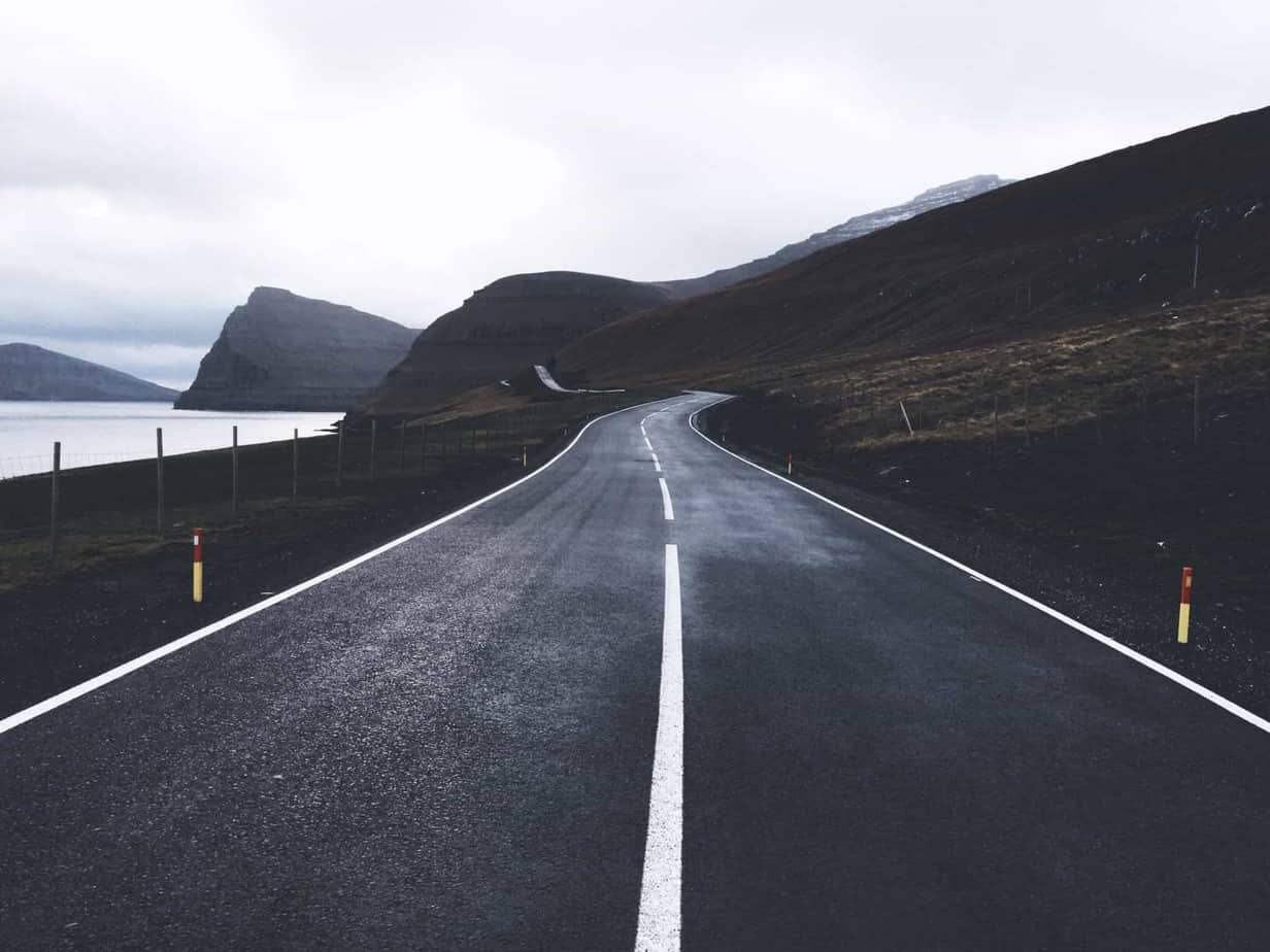 Leaving Klaksvik