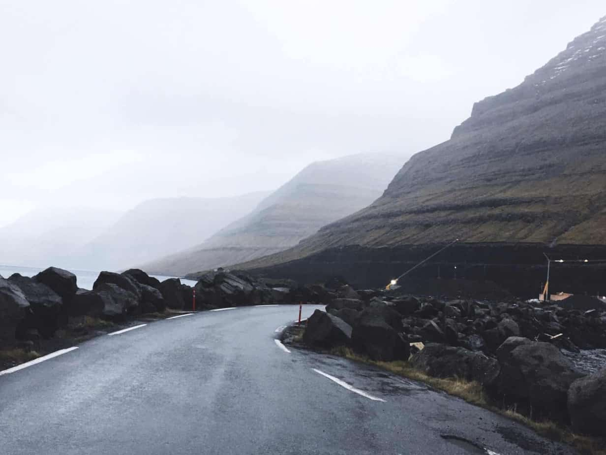 The northern islands of the Faroe Islands