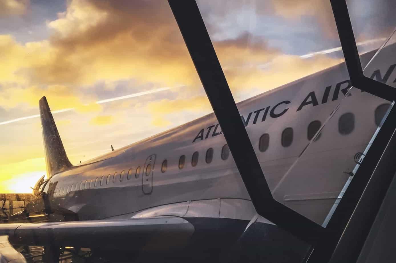 Flight to Faroe Islands