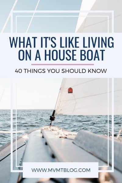 40 Things You Should Know Before Living on a House Boat