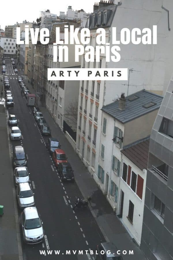 Live Like a Local: Arty Paris