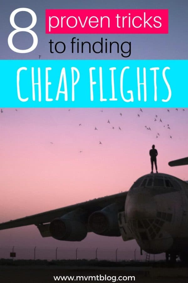 8 Proven Tricks to Finding Cheap Flights