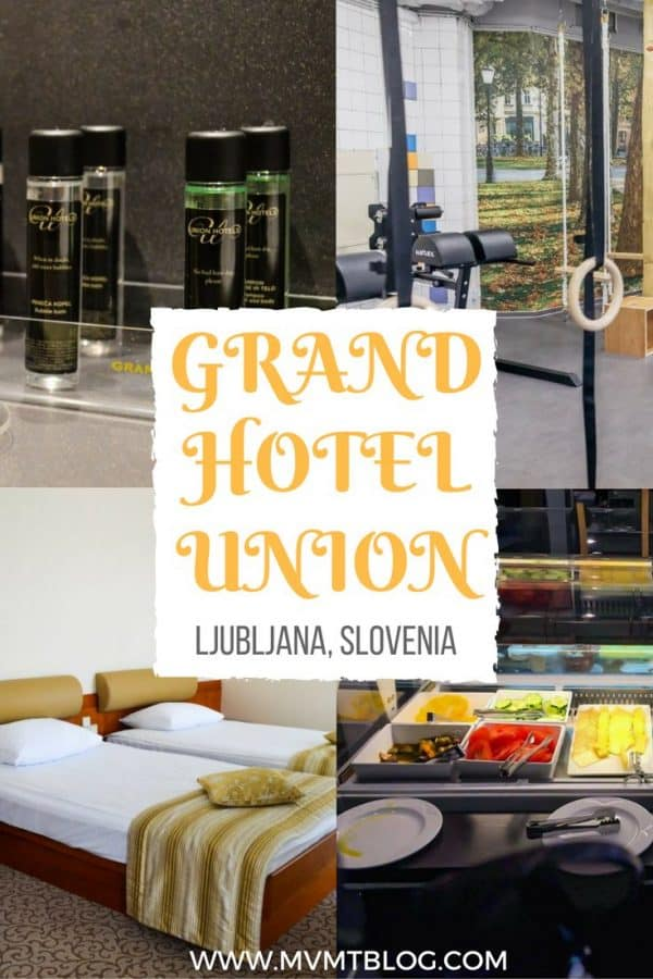 Best Hotel in Ljubljana City Centre: Grand Hotel Union