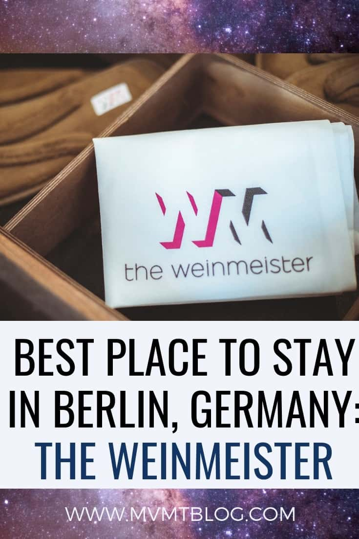 Best Place To Stay In Berlin: The Weinmeister Berlin-Mitte