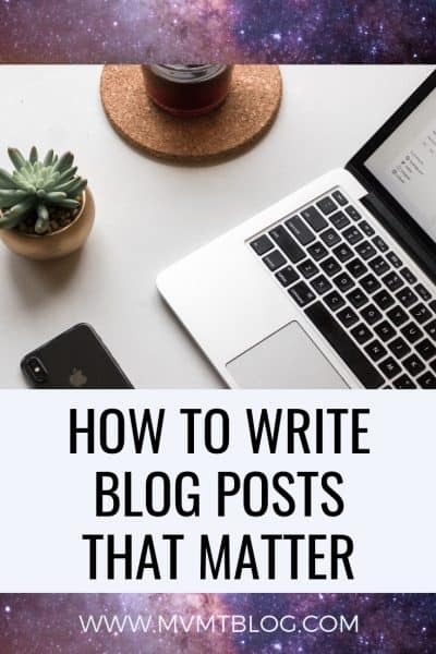 How to Write a Blog Post That People Want To Read