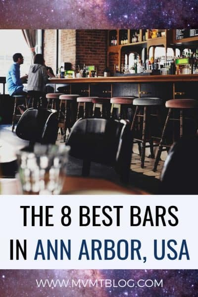 Top 8 Best Bars in Ann Arbor