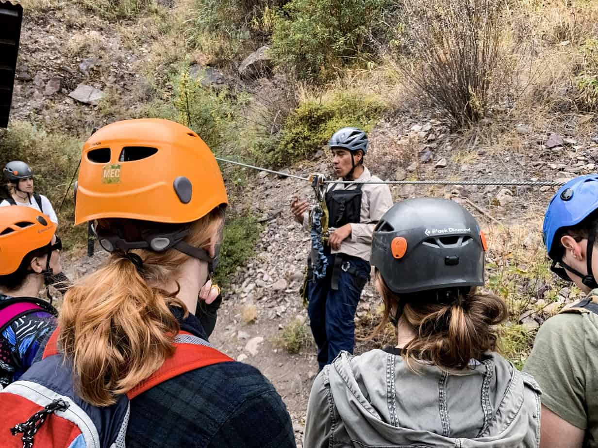 Climbing Via Ferrata And Zipline Adventure In the Sacred Valley With Skylodge Adventure Suites