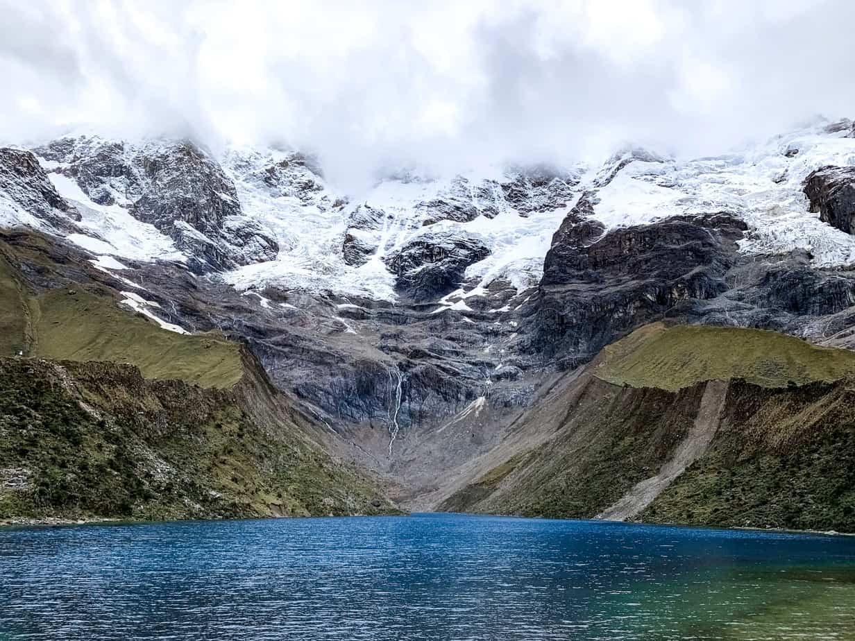 Humantay Glacier Lagoon