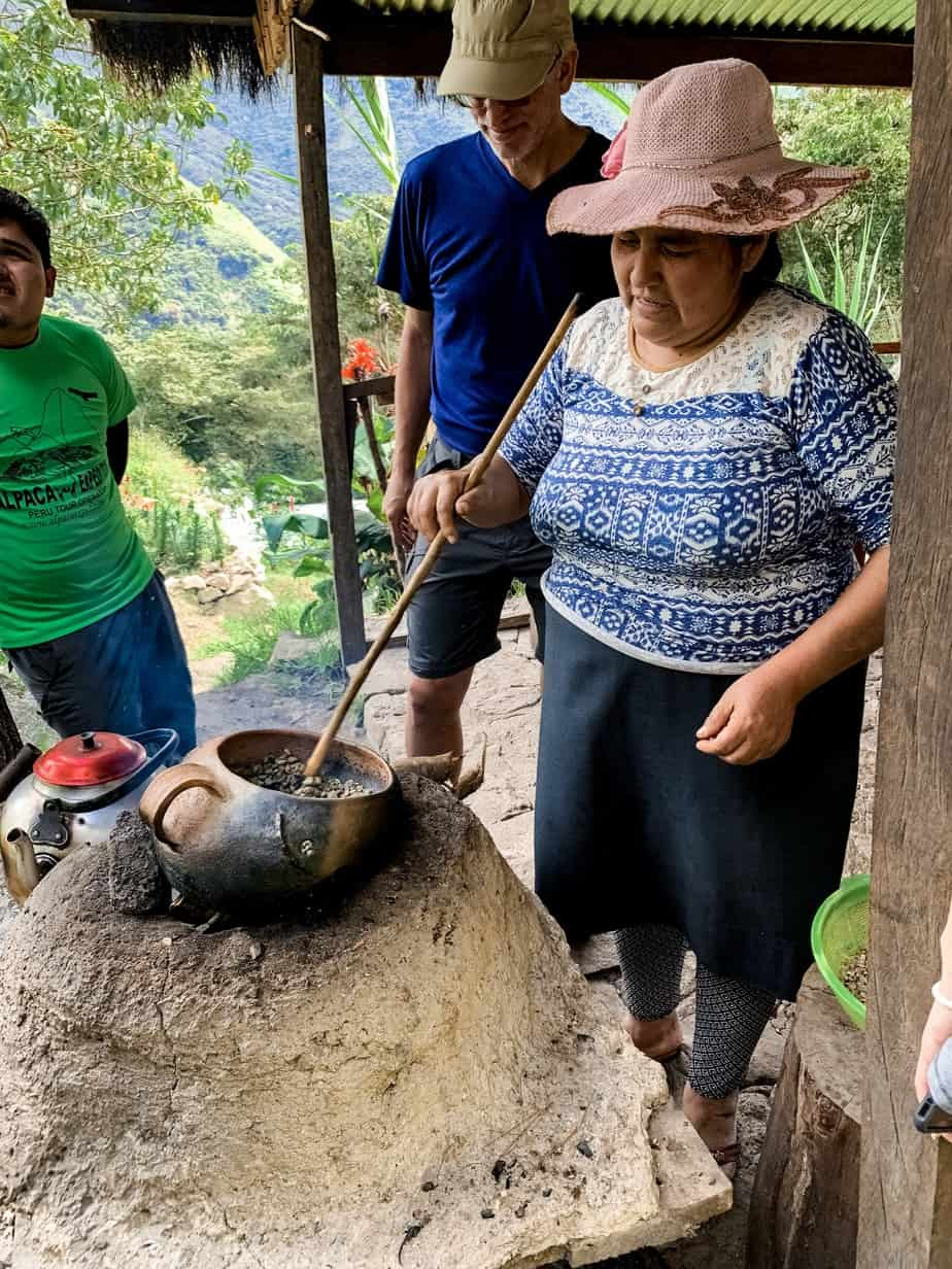Organic Coffee Farm Peru