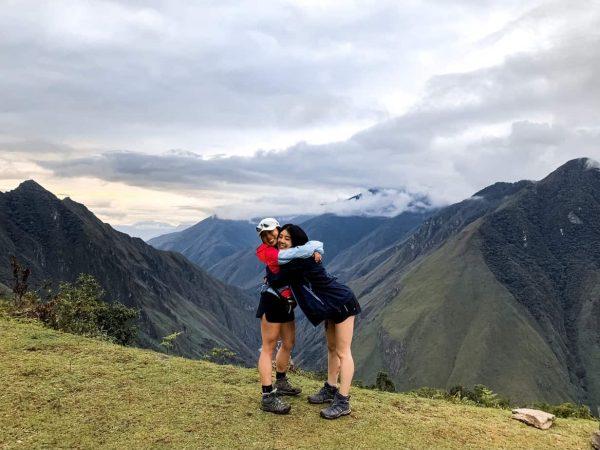 Llactapata Campsite Across From Machu Picchu