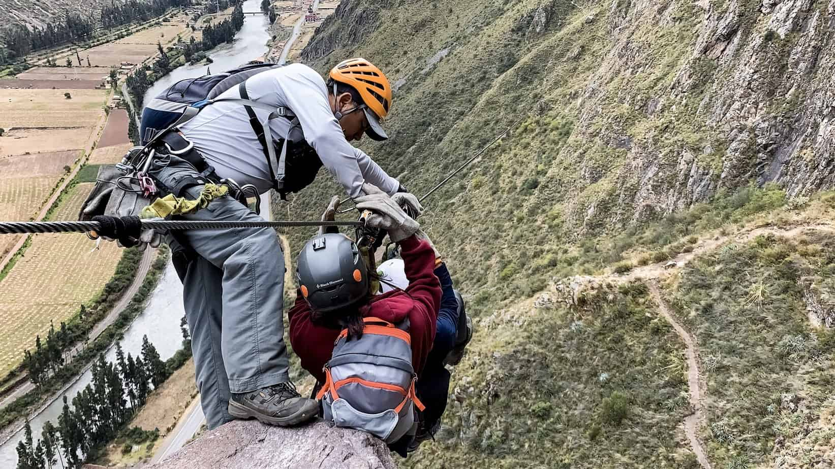 Ziplining in the Sacred Valley with Skylodge Adventure Suites
