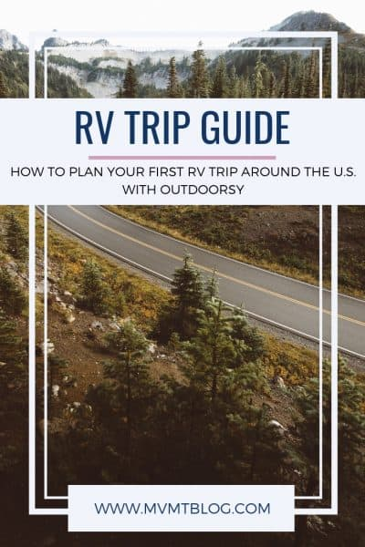 RV Trip Planner for Beginners
