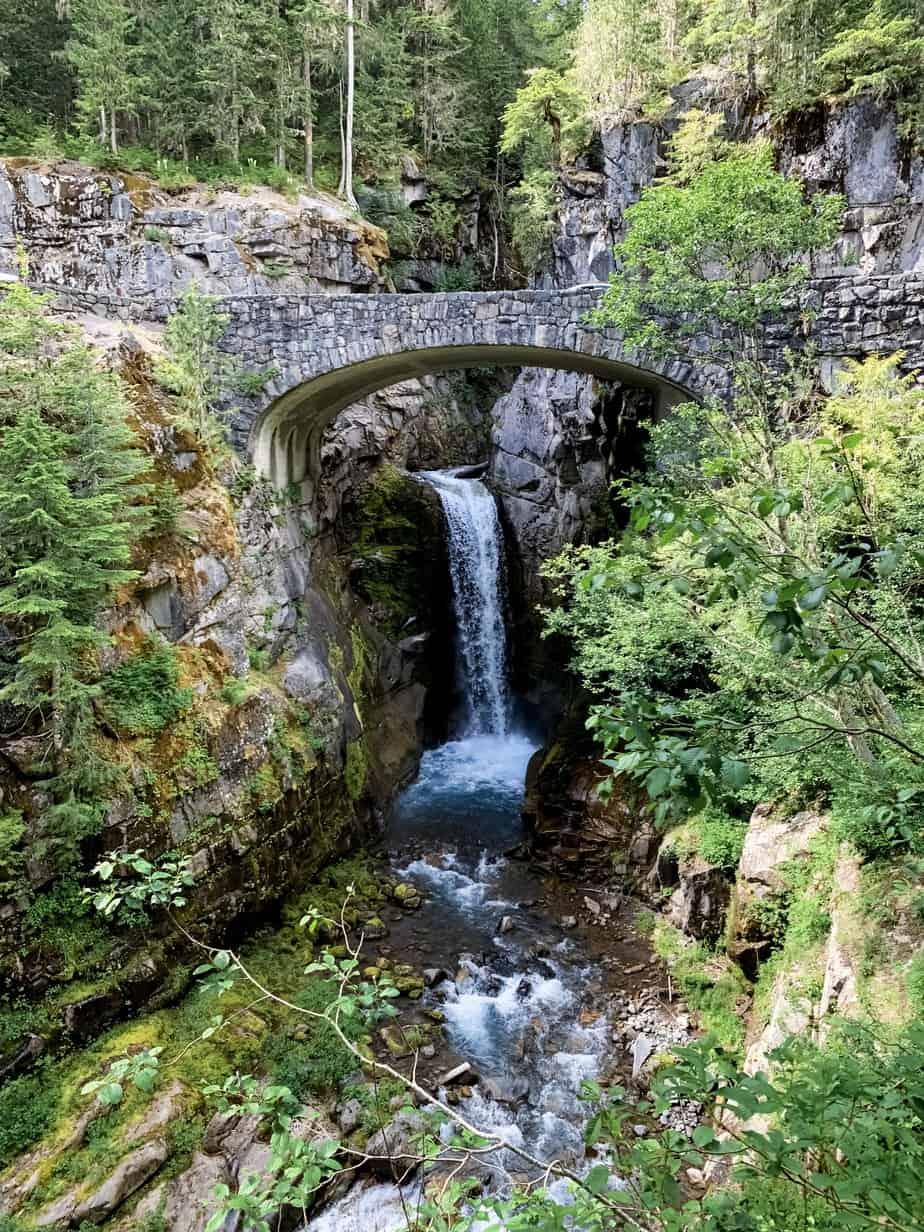 Christine Falls, Mt. Rainier National Park