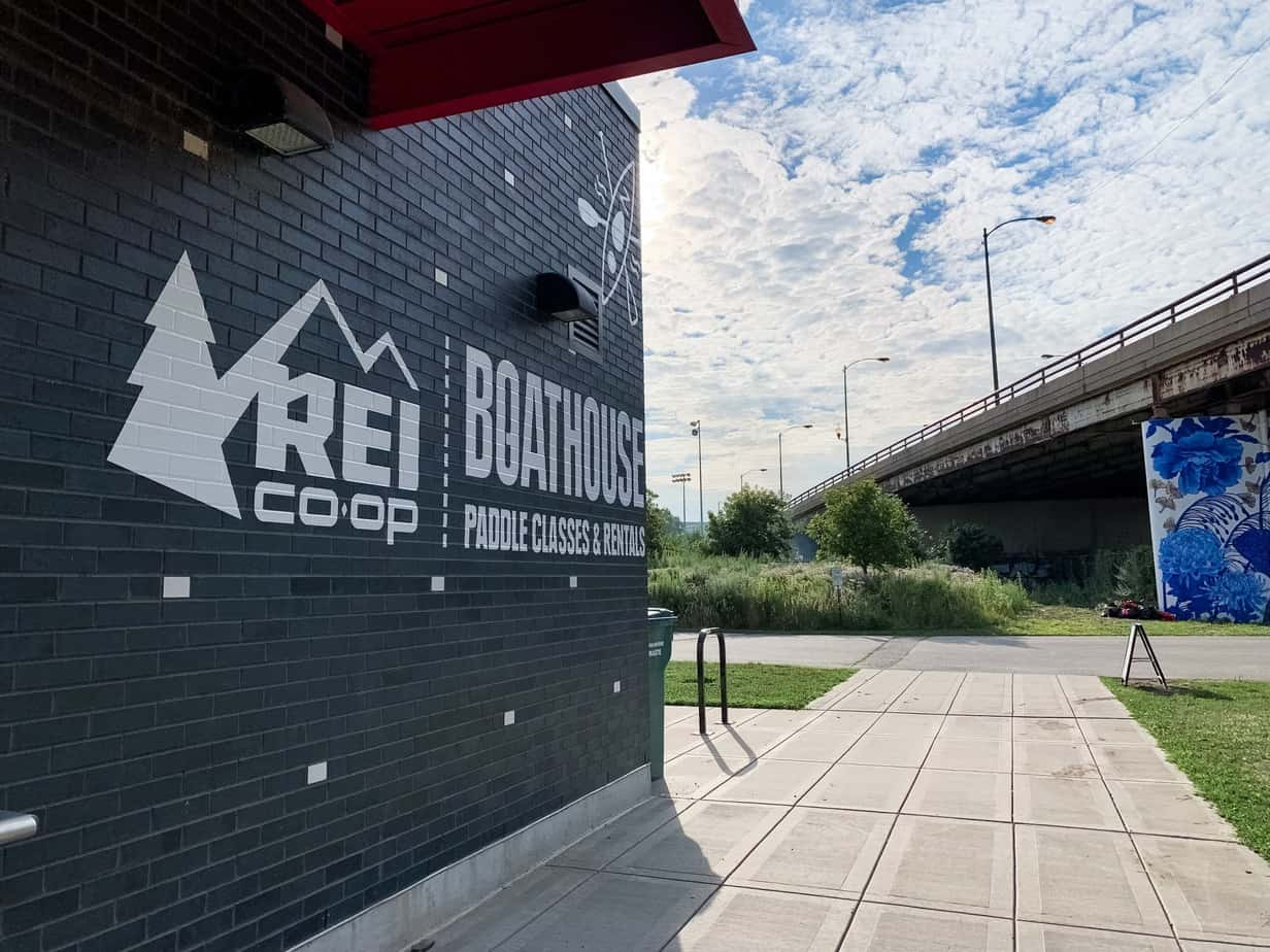 REI Boathouse Chicago