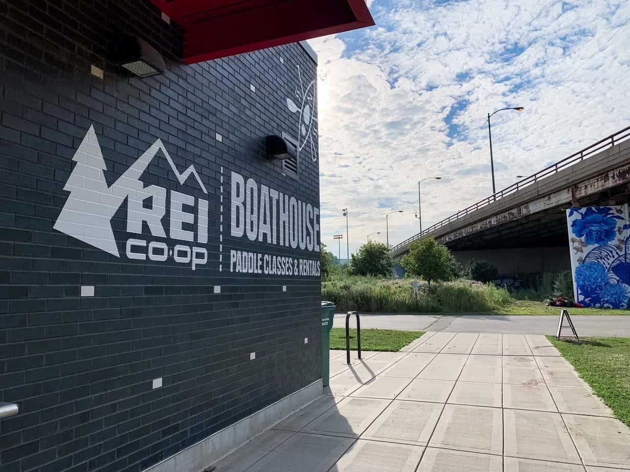 REI Boathouse Chicago