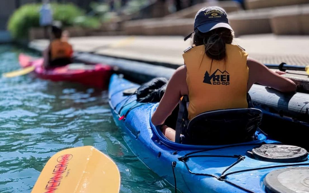 Kayaking in Chicago With REI