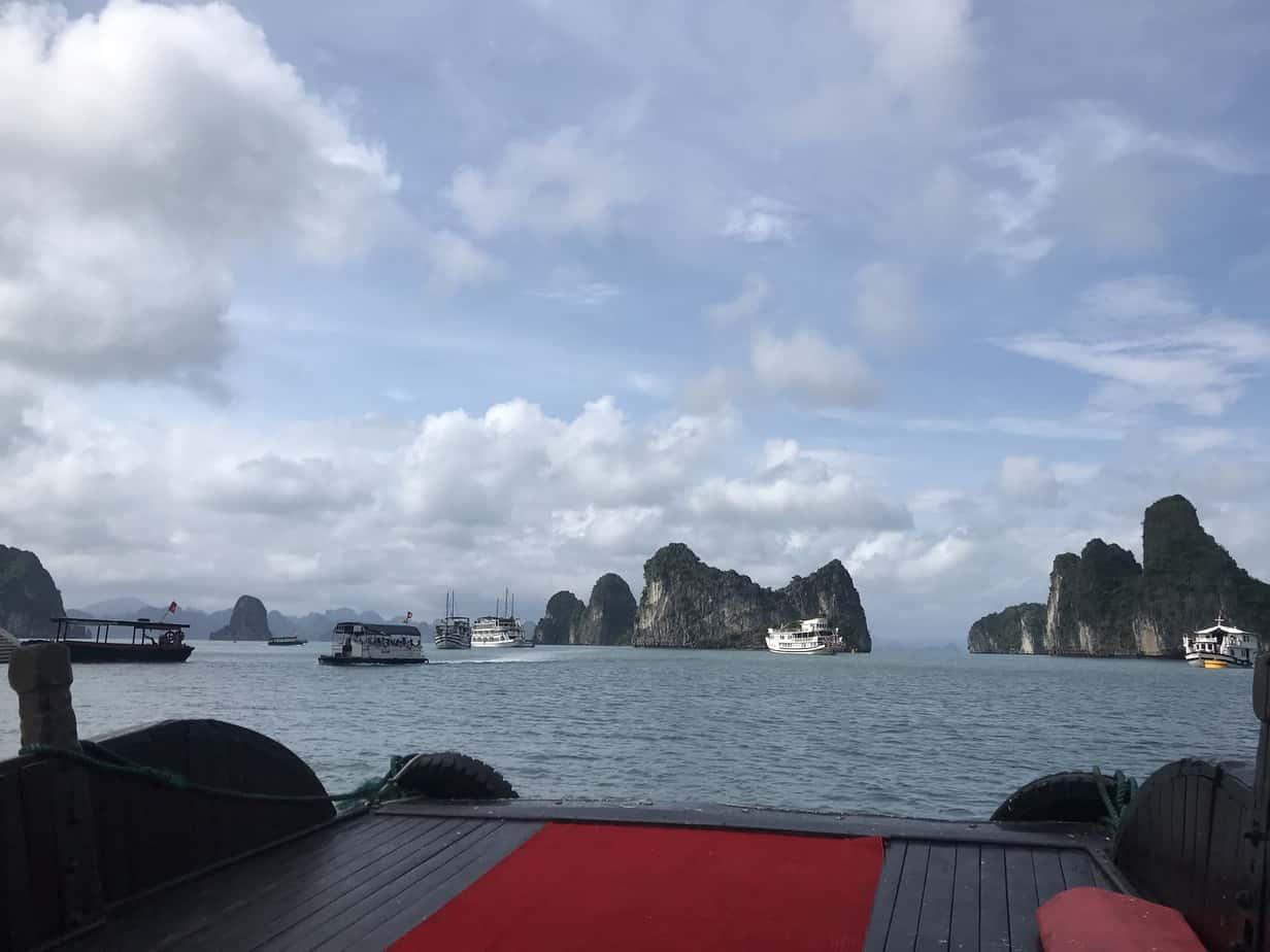 Indochina Boat Cruise through Ha Long Bay | MVMT Blog