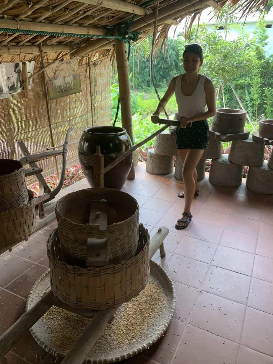 Grinding rice | MVMT Blog