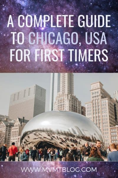 What To Do In Chicago For First Timers