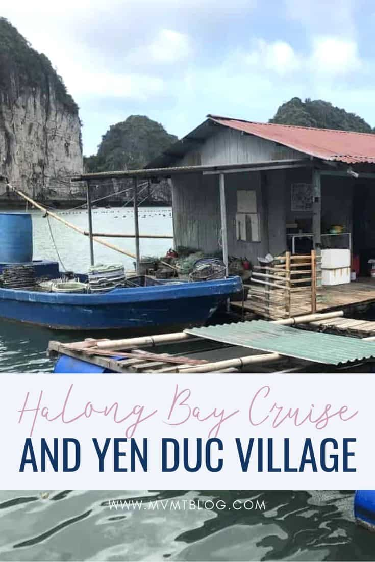 Ha Long Bay Cruise and Yen Duc Village Experience