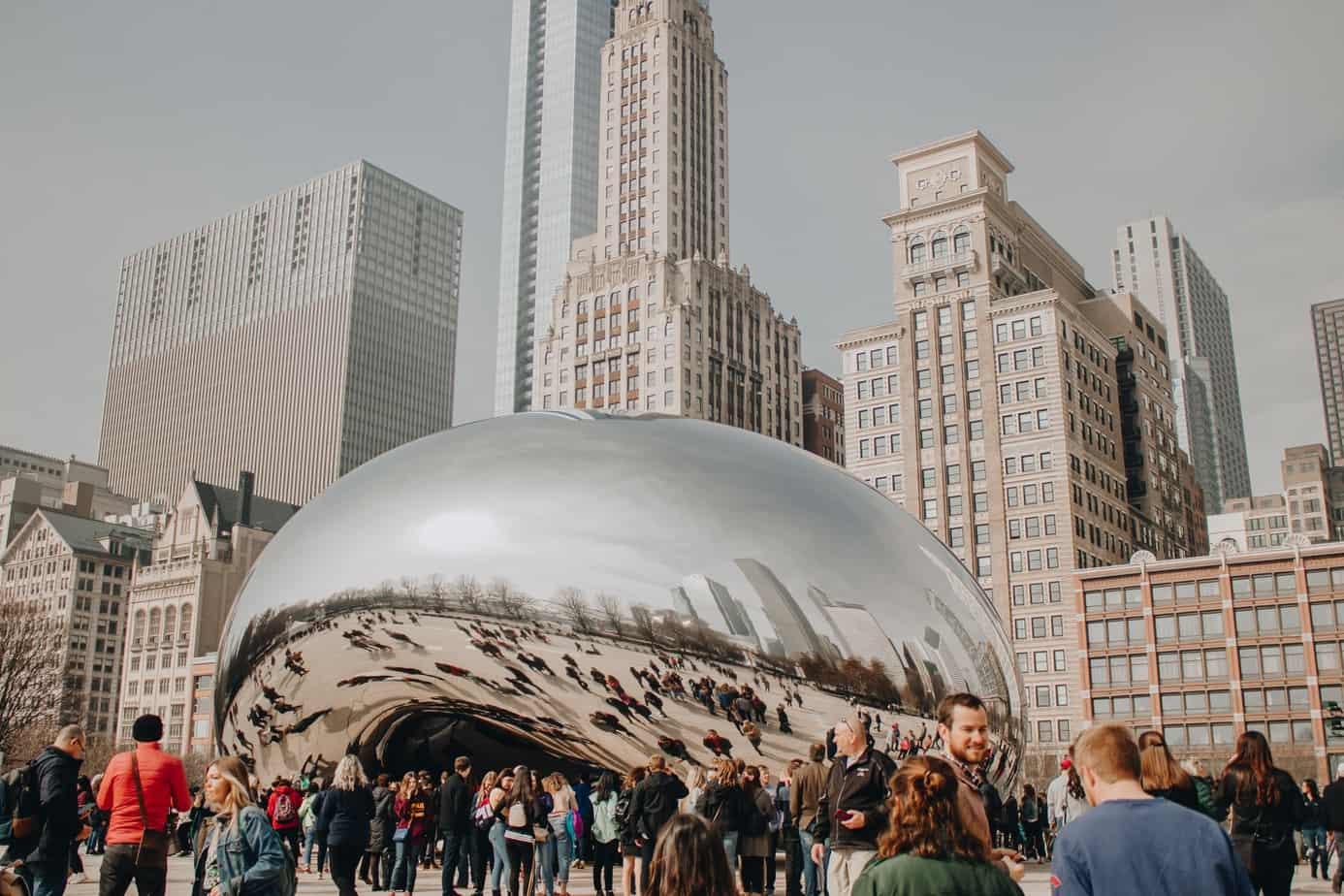 The Bean at Millennium Park Chicago | MVMT Blog