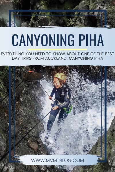 Best Day Trips From Auckland: Canyoning Adventure in Piha