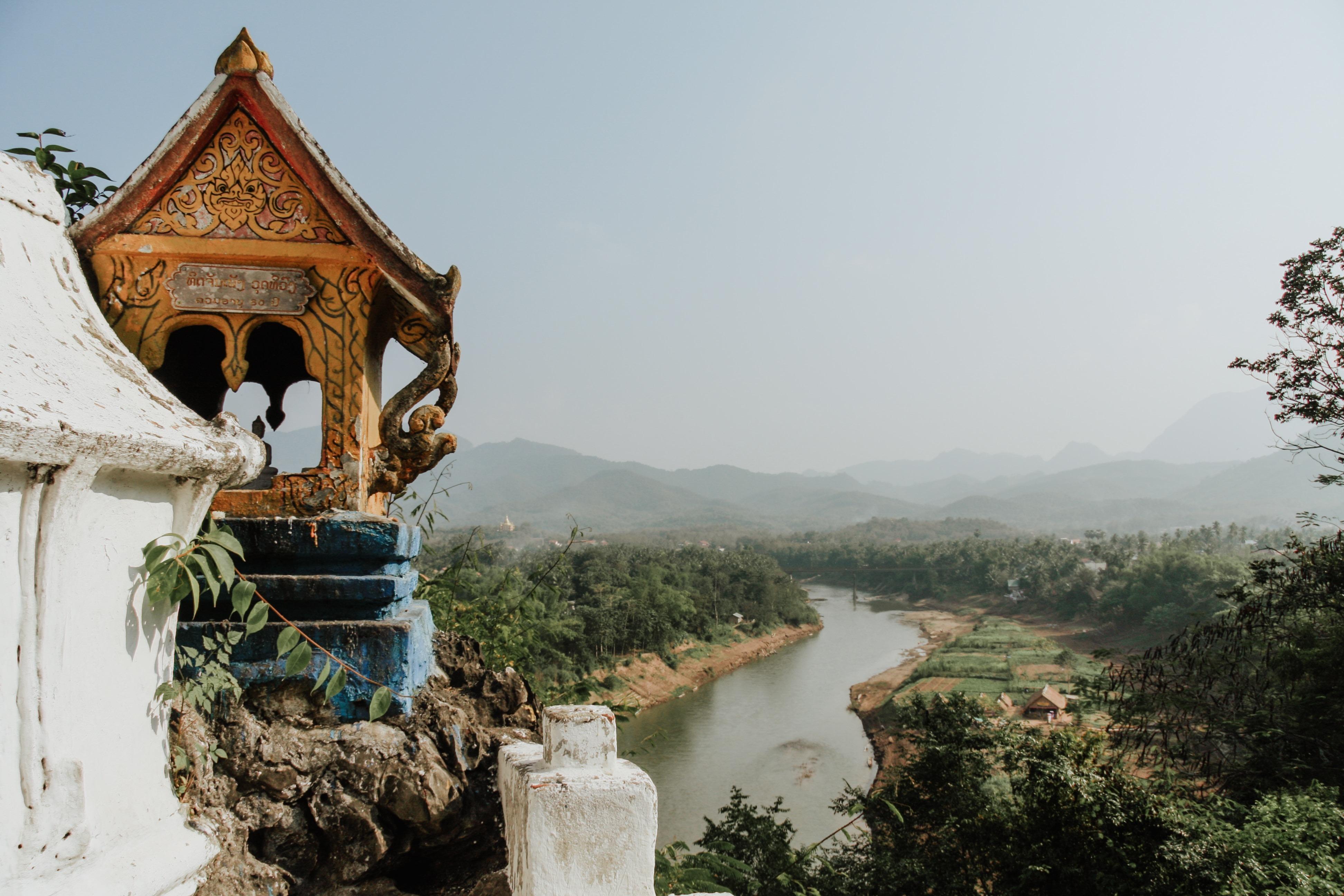 Mount Phou Si Luang Prabang - 24 Hours in Luang Prabang