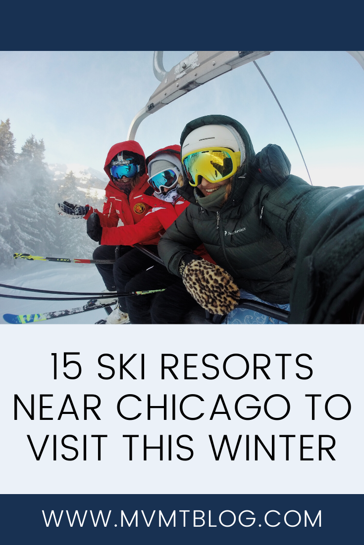15 Ski Resorts Near Chicago to Visit This Winter