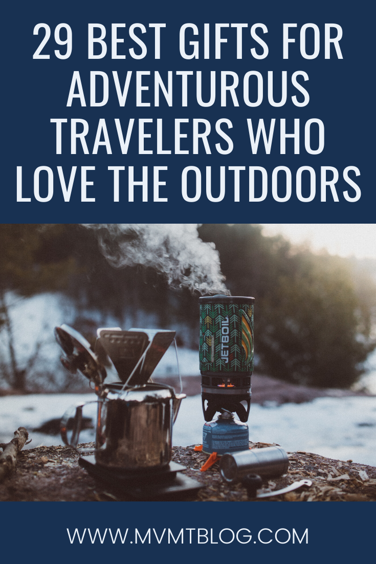 29 Best Gifts for Travelers Who Love the Outdoors