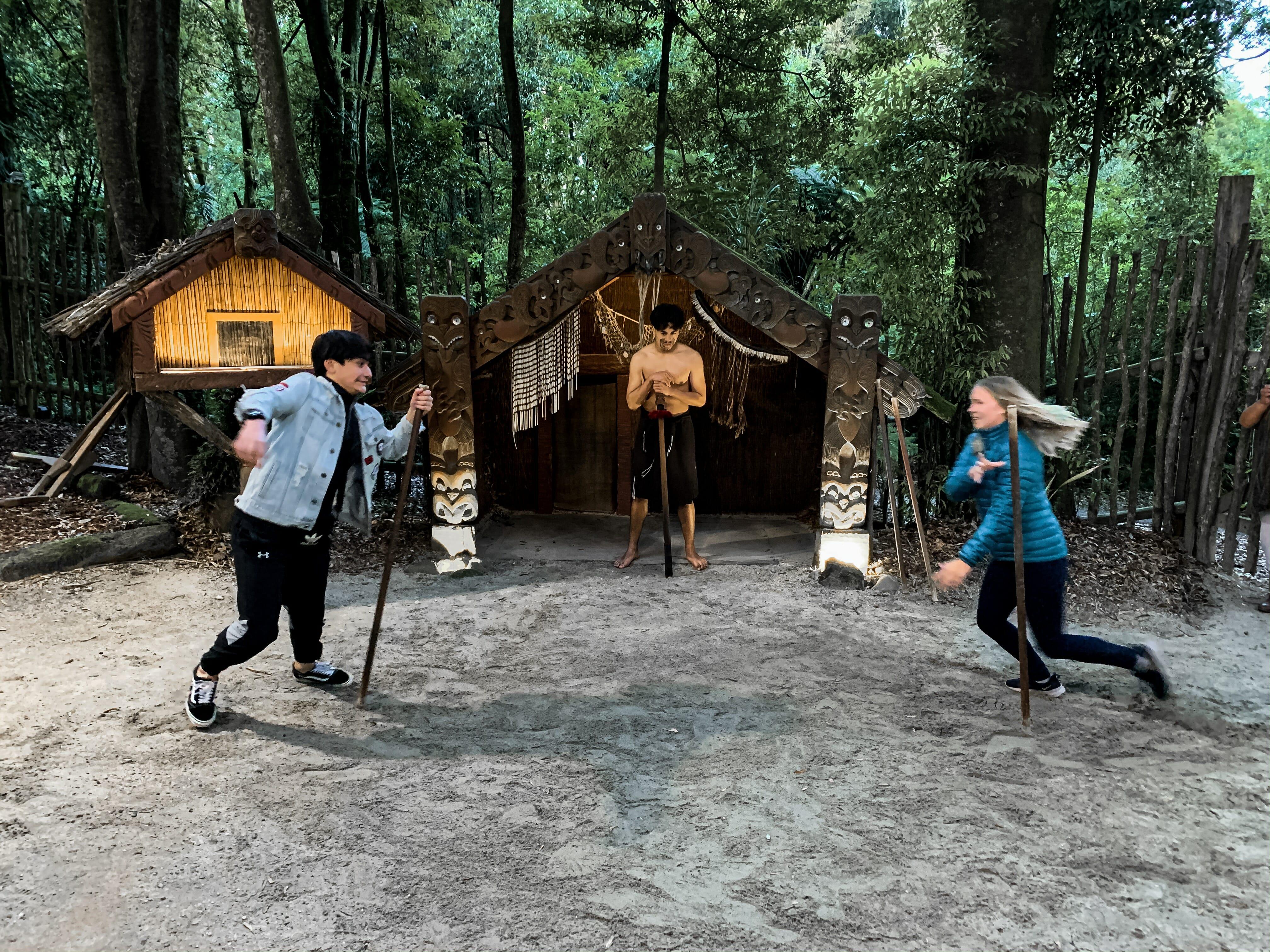 Maori games