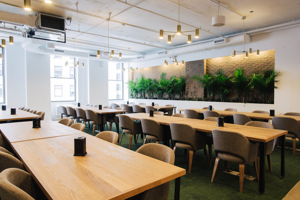 Seating at Primary | Best Coworking Spaces in NYC