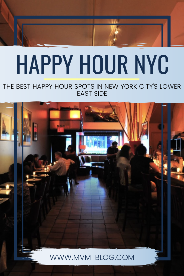 Best Happy Hour Spots in NYC's Lower East Side