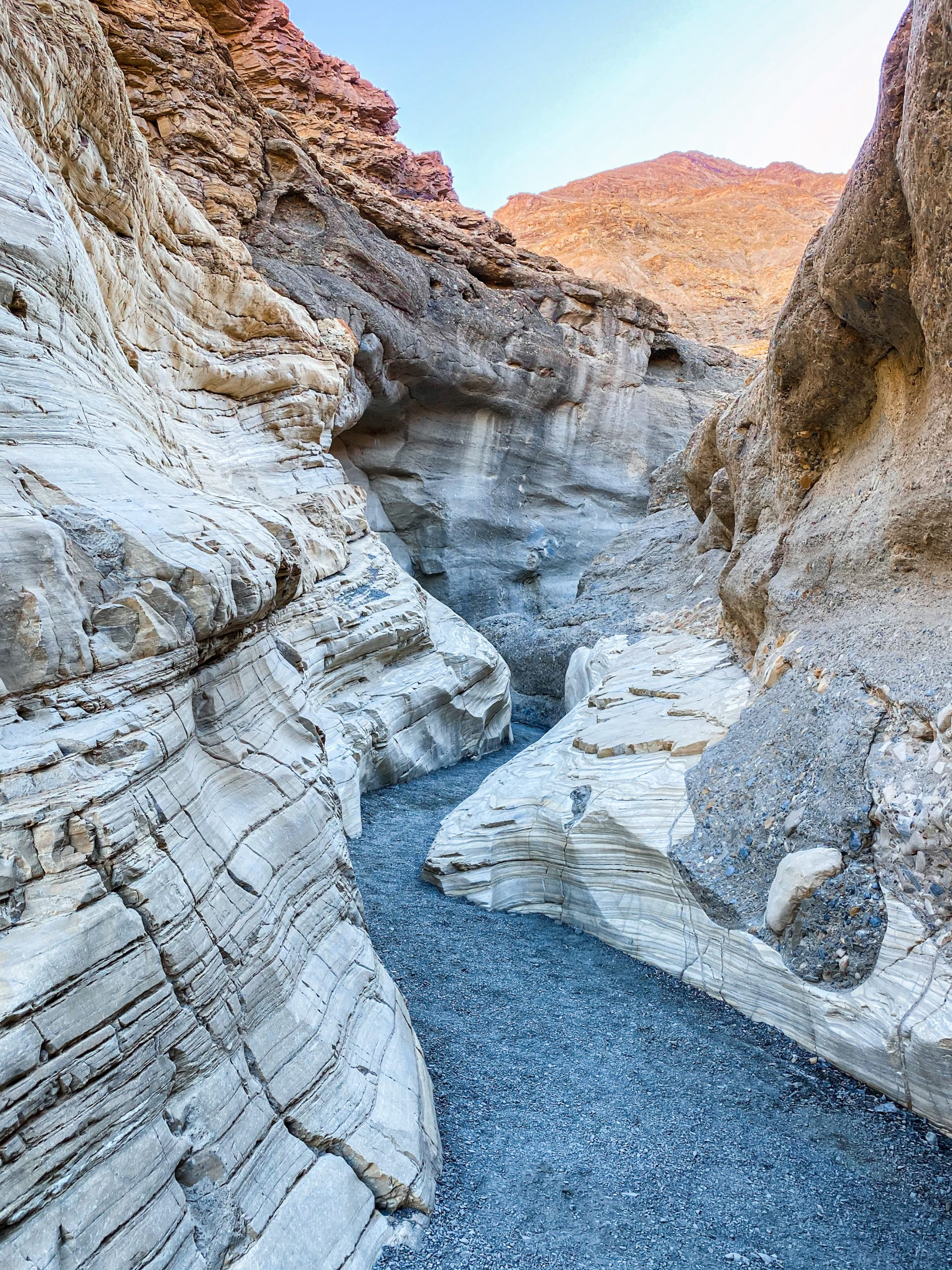 Mosaic Canyon slot canyons - Death Valley National Park