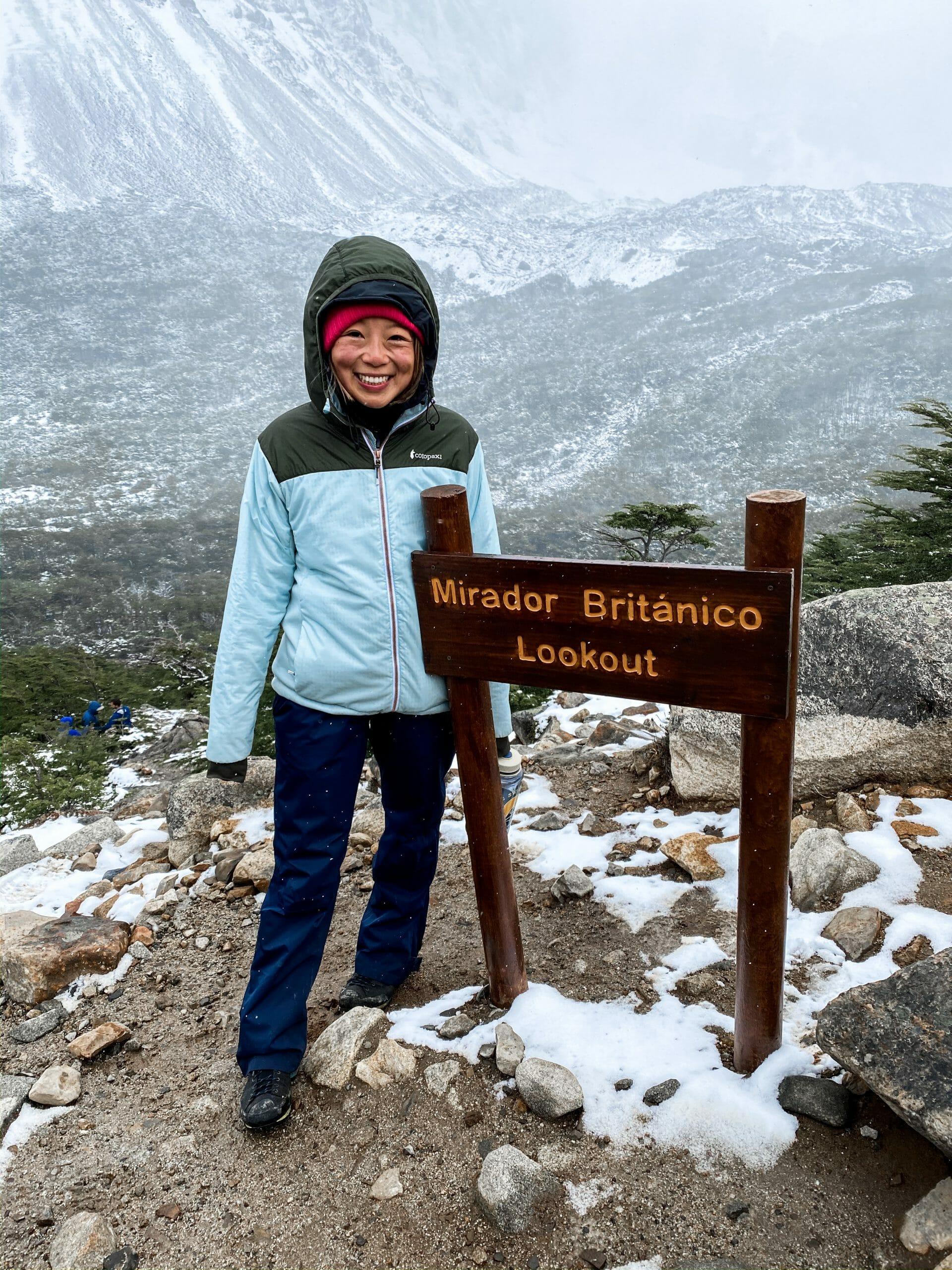 Mirador Britanico - Torres del Paine W Trek