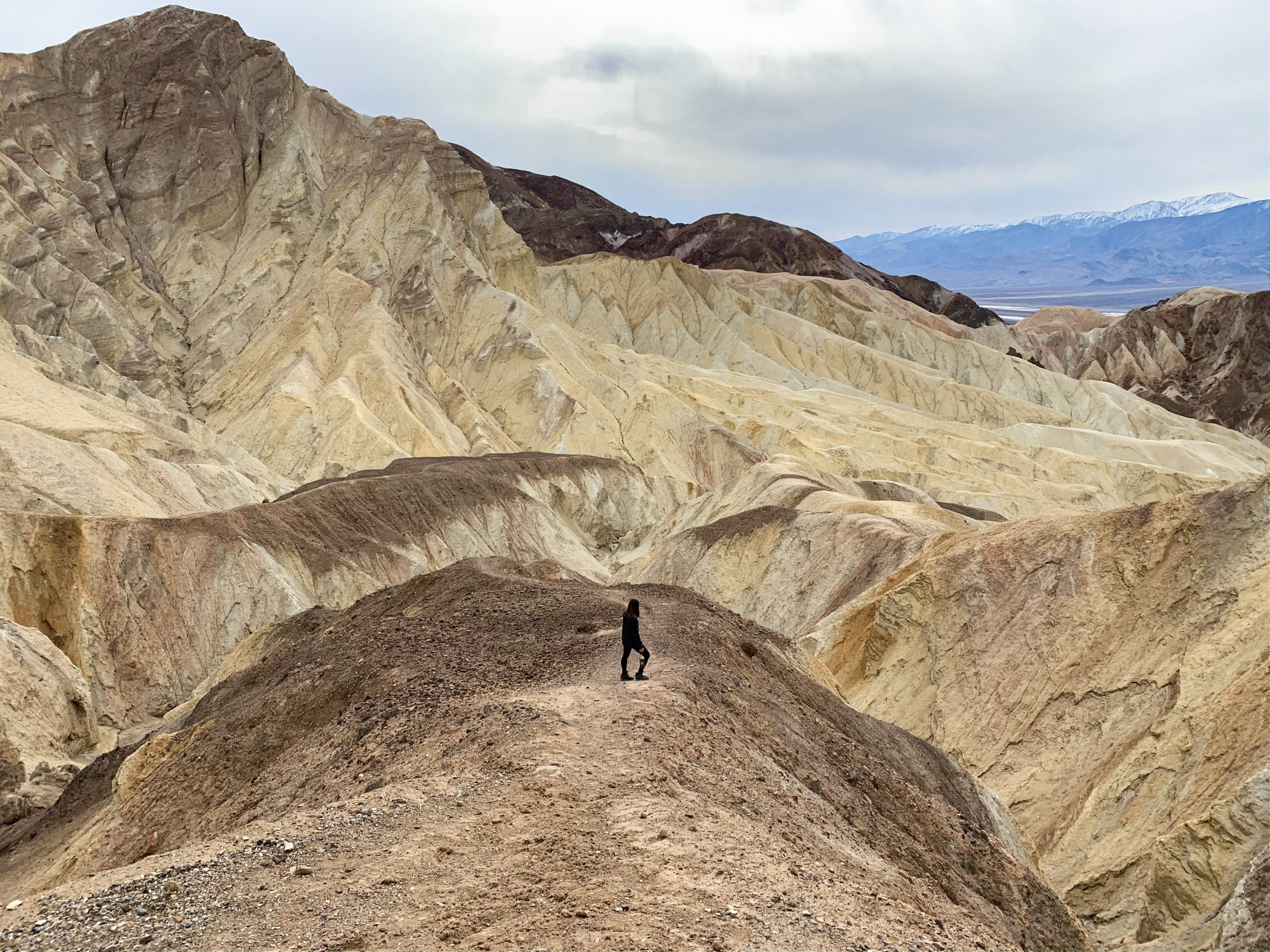 Golden Canyon Hike - Death Valley National Park