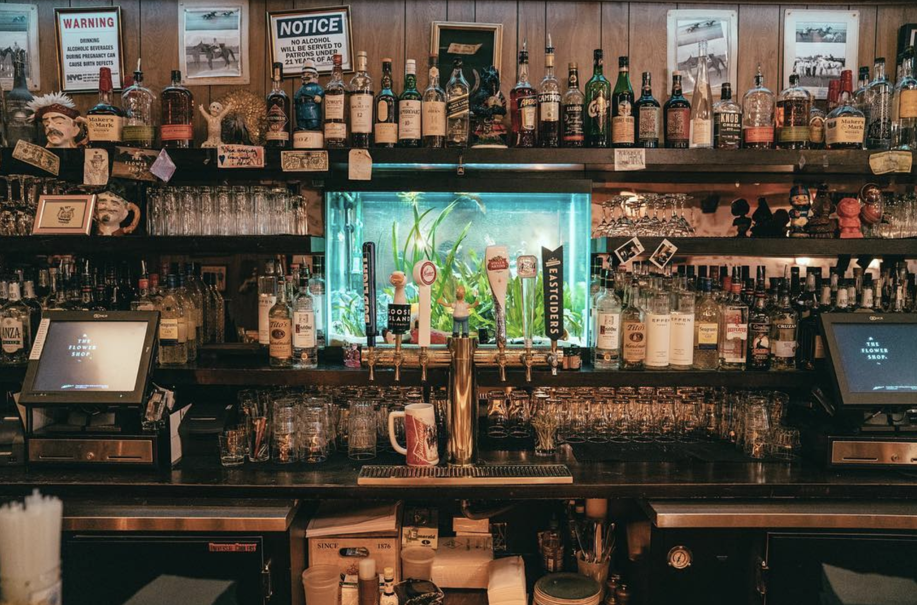 The Flower Shop bar | Best Happy Hour in NYC's LES