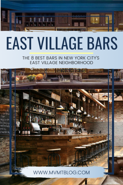Best Bars in the East Village
