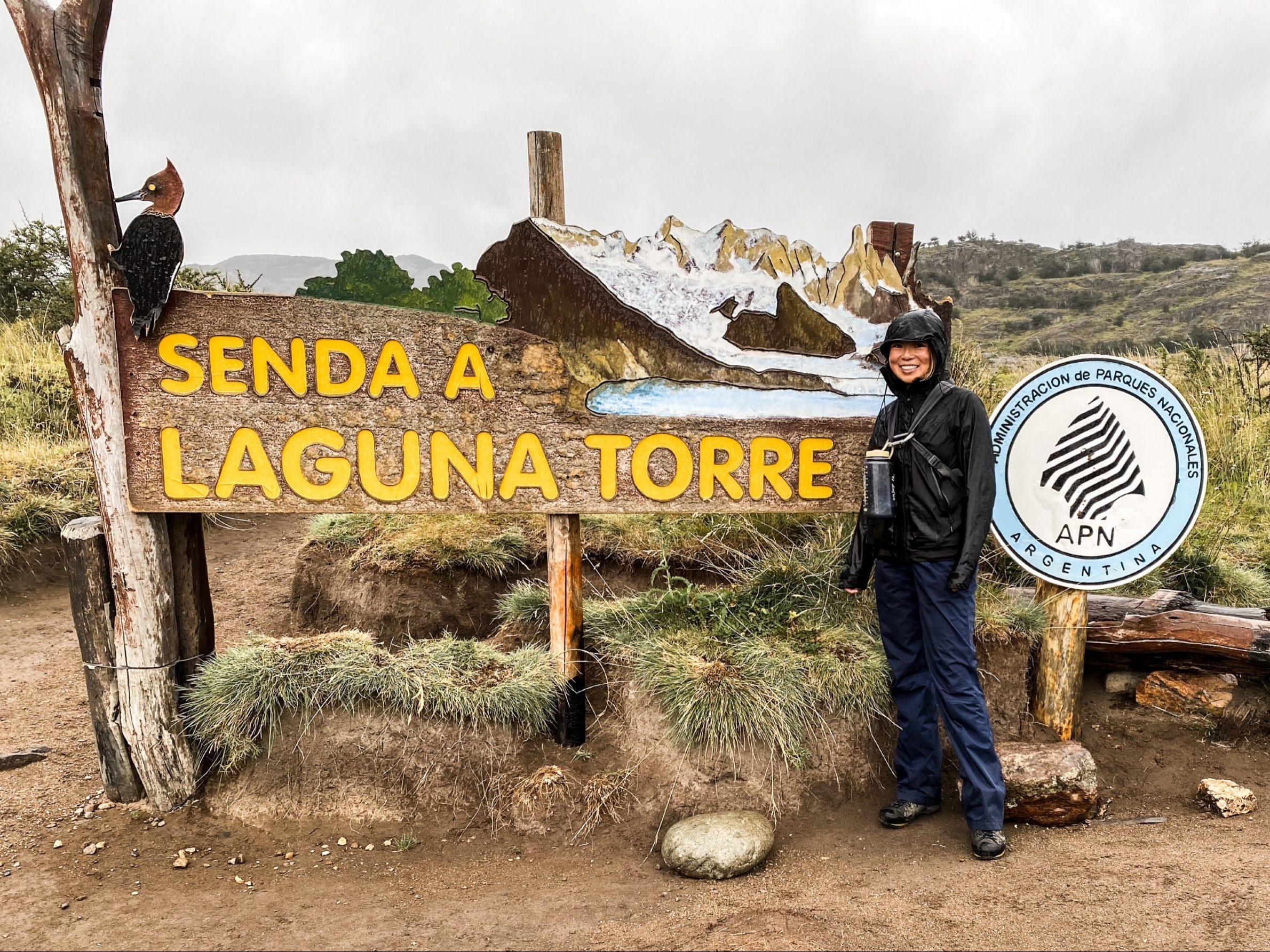 Trailhead to Cerro Torre