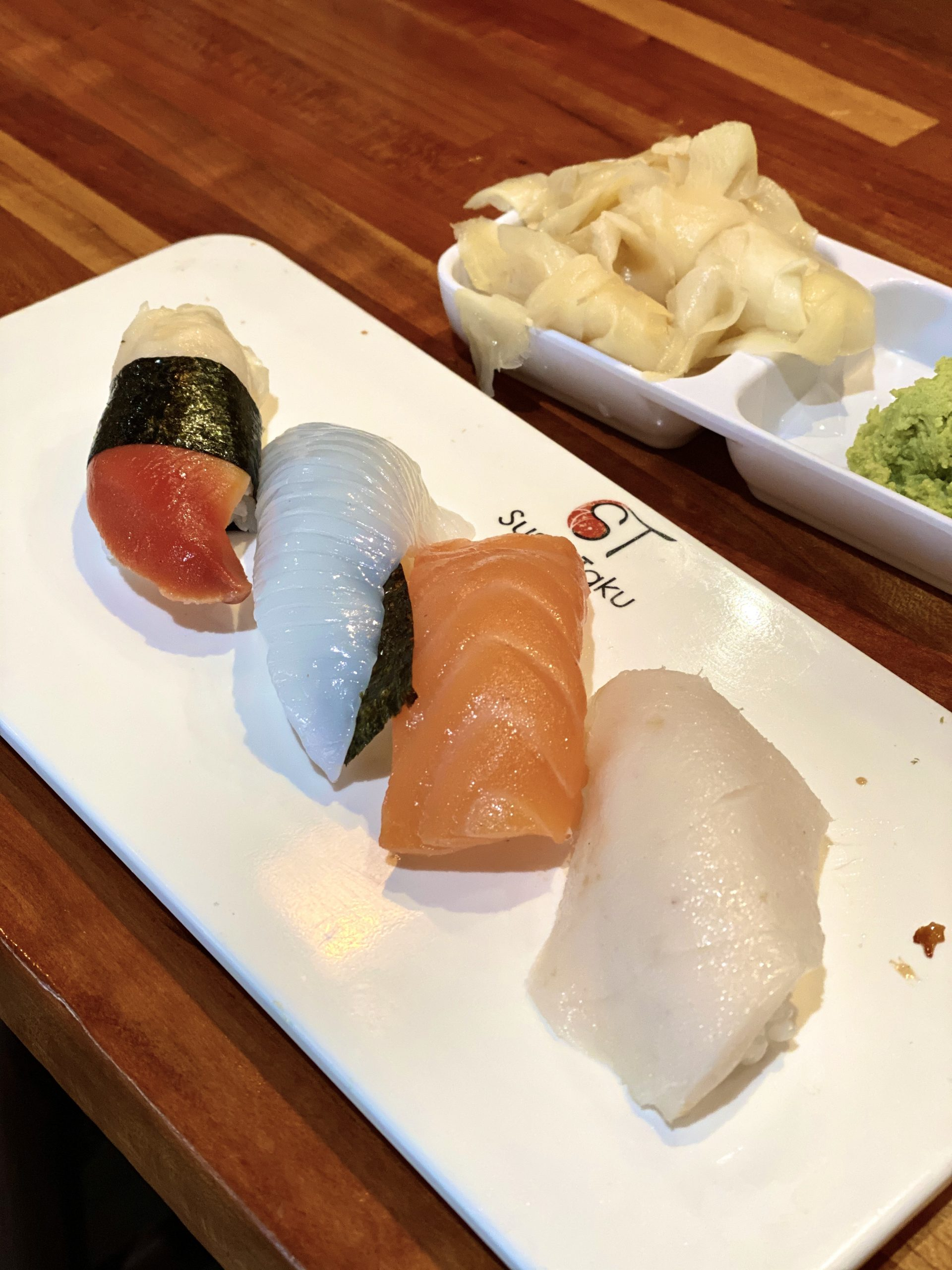 Nigiri at Sushi Taku Chicago